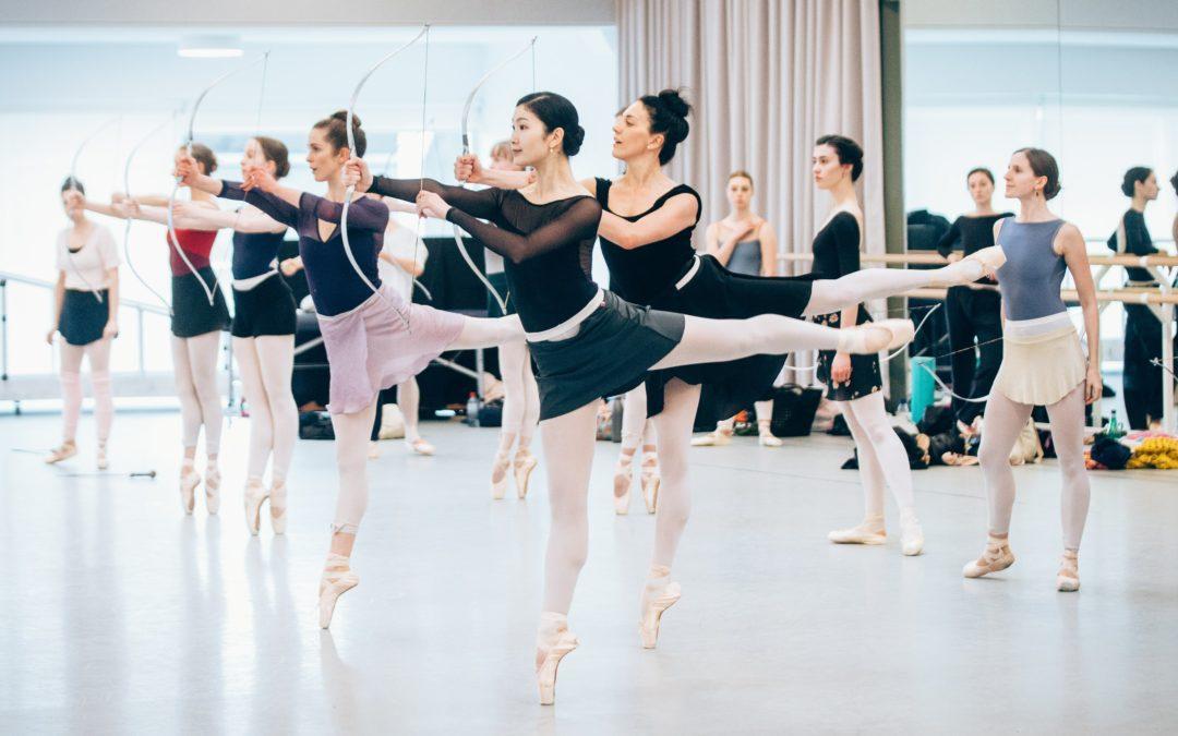 Sylvia in Rehearsal