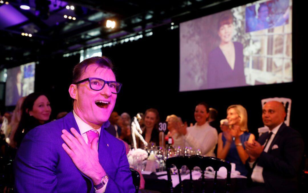 David McAllister receives RAD award