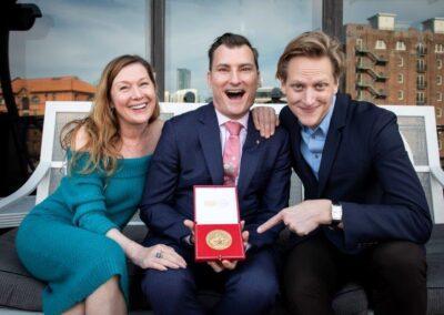 David McAllister AC receives RAD Award
